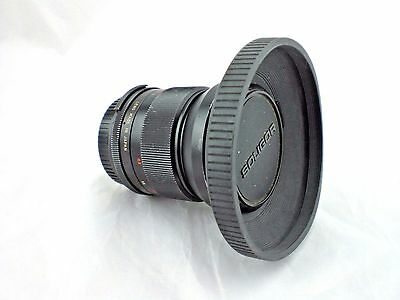 Zoom Lens Vivitar Auto Wide Angle 28mm No 22103139 W Tiffen 62mm Hood Vintage
