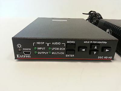 Extron DSC HD-HD HDCP Video Scaler