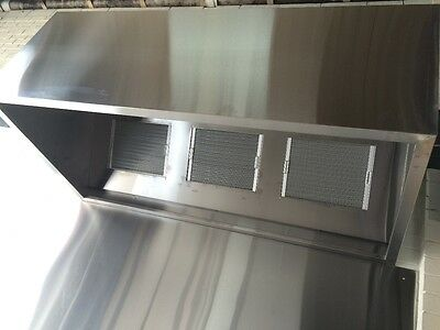 Commercial Canopy / Exhaust  Range hood 2000mm L x 1000mm D x 700mm H