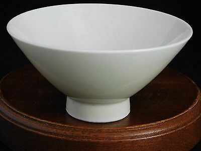 Vintage Fine Porcelain Pastel Green/Blue Rice Bowl Made in Japan