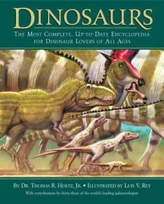 NEW Dinosaurs By Thomas R. Holtz Hardcover Free Shipping
