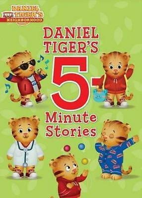 NEW Daniel Tiger's 5-Minute Stories By Various Hardcover Free Shipping