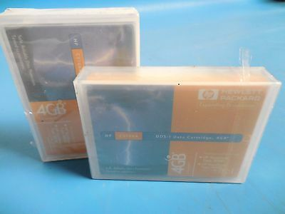 HP C5706A DDS-1 Data Cartridge 4GB Lot of 2