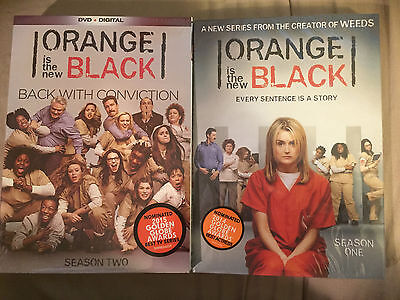 Orange Is The New Black Season 1 & 2 - DVD + Digital TV Shows One Two BRAND NEW