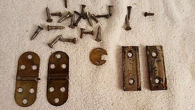 Antique Minnesota Model A Treadle Sewing Machine Cabinet Hinges & Fasteners