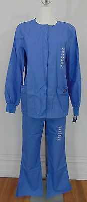 Authentic Nwt Cherokee Blue Women's Scrubs Size Xs        (A7704)