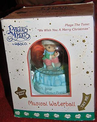 Precious Moments by ENESCO Musical Waterball Music Box