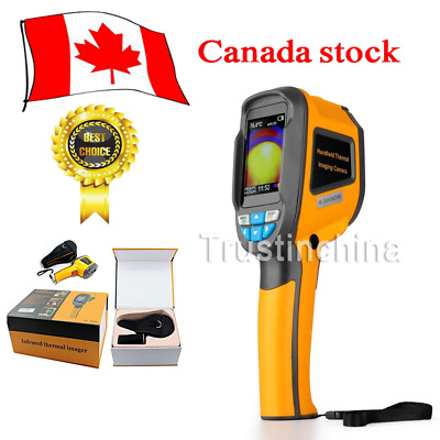 New Handheld Thermal Imaging Camera IR Infrared Thermometer Imager 20℃ to 300℃