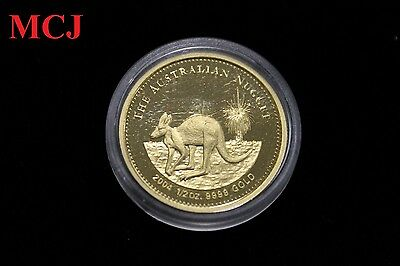The Australian Nugget 2004 1/2 Oz .9999 Gold Coin
