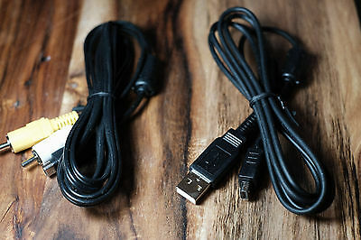 Olympus Camera Data USB Cable Digital & USB A/V Cable (CB-AVC3)