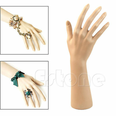 1Pc Fake Model Nail Art Watch Ring Bracelet Gloves Display Stand Mannequin Hand