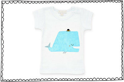 Wilson & Frenchy Little Whale Tee-Size 0
