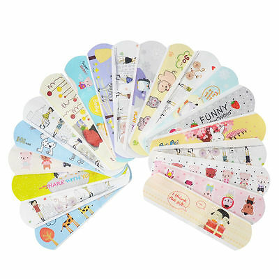 50PCs Variety Decor Patterns Bandages Cute Cartoon Band Aid For Kids Children t