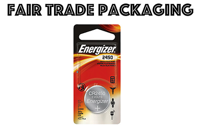 1 x Energizer CR2450 2450 DL2450 3V Lithium Coin Cell Battery