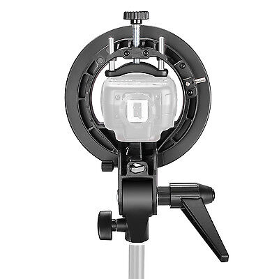 NEEWER S-type Flash Bracket Mount for Speedlite, Bowens Softbox and Beauty dish