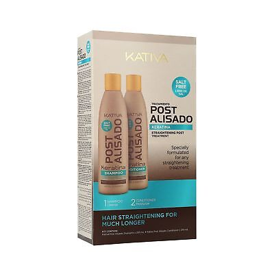 Kativa Post Lissage Set Shampooing 250ml + Conditionneur 250ml