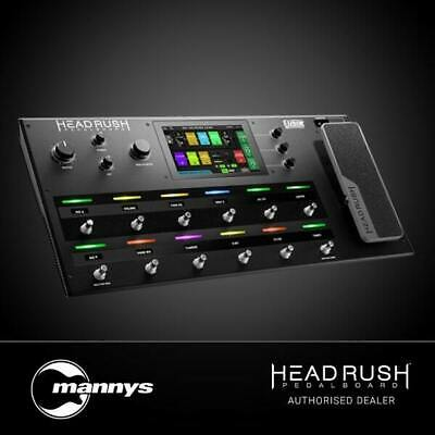 HeadRush FX Pedalboard w/ Quad-Core Processor (Powered by Eleven HD Expanded DSP