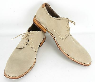 feeae0ad57e Mens Steve Madden P-Elvin Casual Lace Up Suede Oxford Shoe Size 11 Med