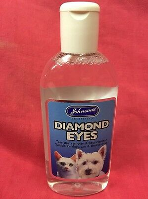Tear Stain Remover Facial Cleanser Dogs Cats Small Animals 125ml Puppies Kittens