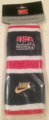 Nike RARE Dream Team USA Basketball 1992 Olympic wristbands sweatbands Jordan