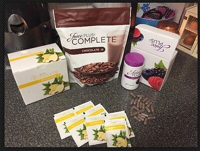 Juice Plus Chocolate Shake Mix & Detox Plan & 10day Boosters & Berry Trial