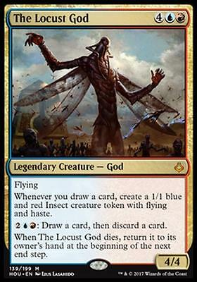 LA LOCUSTA DIVINA - THE LOCUST GOD Magic HOU Mint