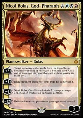 NICOL BOLAS, DIO FARAONE - NICOL BOLAS, GOD-PHARAOH Magic HOU Mint