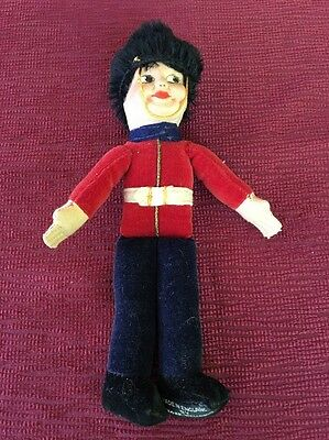 Vintage Norah Wellings Royal Guard Doll - Made in England - Cloth