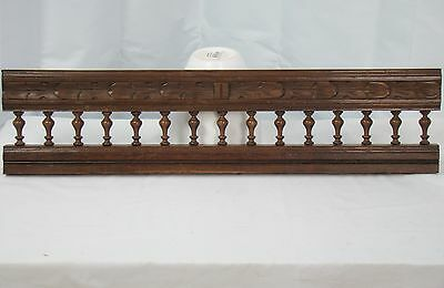 US0044 Hand Carved Pediment simple breton style