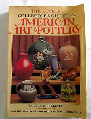 Kovel's AMERICAN ART POTTERY Marks Makers Dates 1500+ photo's