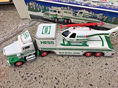 Hess Truck 1995 Truck with Helicopter in Box