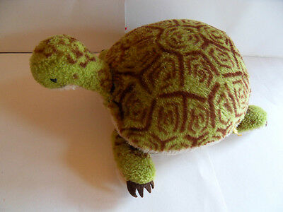 Steiff turtle tortoise rare  large button flag made in Germany 905