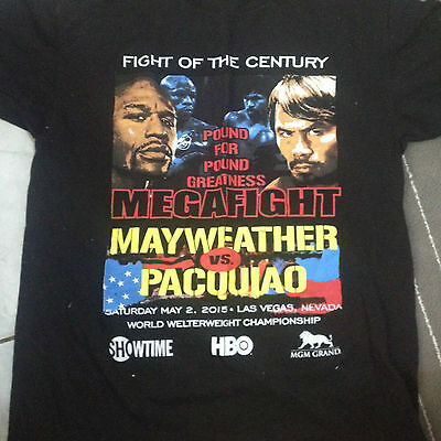 Mayweather/Pacquiao fight of the century t shirt