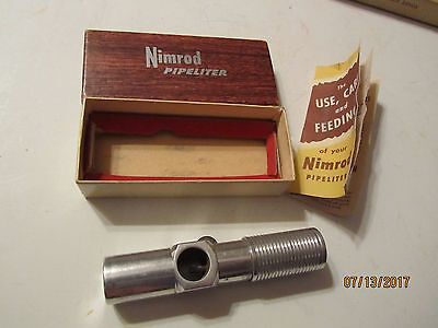 Vintage Nimrod Pipeliter w/Box & Instructions Made in USA