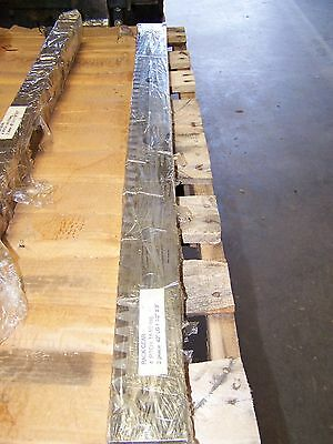 "1-3/4"" Face Width 2-3/4"" Thick 42"" Long 14-1/2 Pressure Angle 4 Pitch Gear Rack"