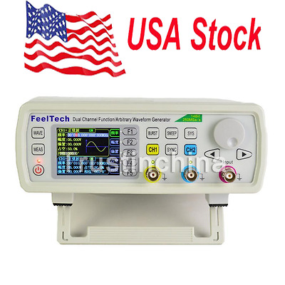 30MHz FeelTech DDS 2CH Function Arbitrary Waveform Generator Frequency Meter