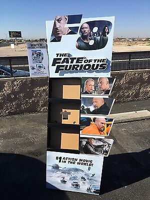The Fate of The Furious Retail DVD Blu-Ray Movie Display Auction Finds 702