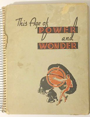 Cigarette card book: the age of wonder and power 1930s