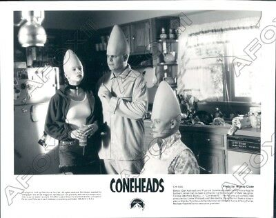 1993 Paramount Pictures Comedy Movie Coneheads Actor Dan Aykoyd Press Photo