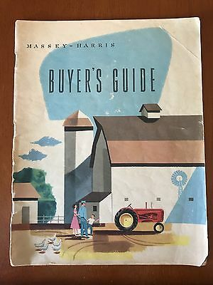 Massey Harris buyers Guide 51 Pages Long!