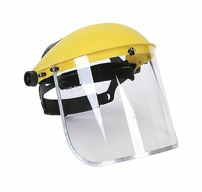 Clear Full Face Shield Visor Mask  Face And Head Coverage- Ideal For Automoti...