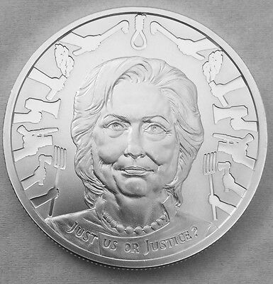2017 Silver Shield Just Us or Justice Mini Mintage 1 oz Silver Round