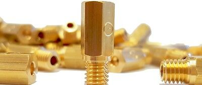 Keihin main Hex style jet for carbs FCR,CR,PD,PJ,PWK Made in UK - Sizes(132-238)