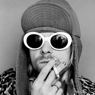 Soundcloud Rapper Glasses NIRVANA Kurt Cobain Sunglasses UV400  Unisex Brille
