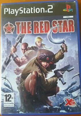 The Red Star PS2 Playstation 2 Game boxed pal tested and working 100%