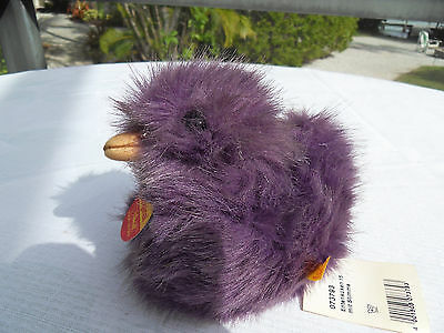 Steiff duck purple all Ids squeaker made in Germany 1422