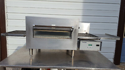 Lincoln Impinger 1132 Electric Pizza Conveyor Oven 208V 3 Phase Table Top