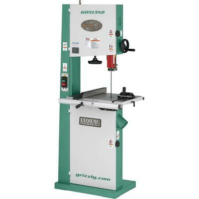 "G0513X2 Grizzly 17"" Bandsaw 2 HP w/ Cast Iron Trunnion"