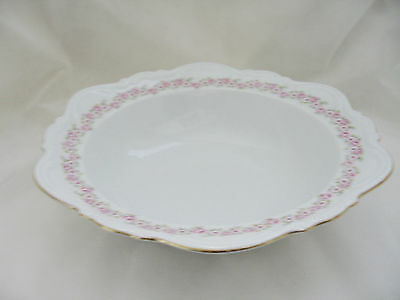 "Mitterteich Bavaria Germany Serving Bowl in ""Lady Beatrice"" Pattern 10"" diameter"