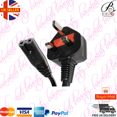 POWER LEAD CABLE for HP OFFICE JET PRINTERS  UK PLUG (Tested)